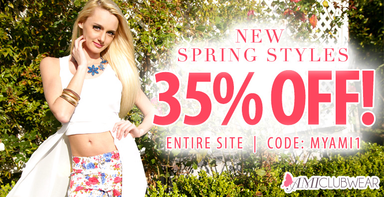 Shop now for 35% off our entire website