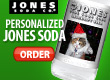 Jones Soda Customized Bottles