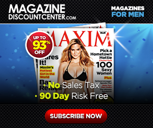 Magazines for Men up to 85% off