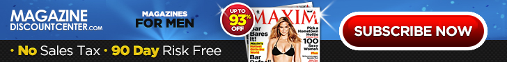 Magazines for Men up to 90% off