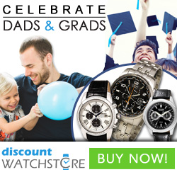 Celebrate Dads and Grads at DiscountWatchStore.com