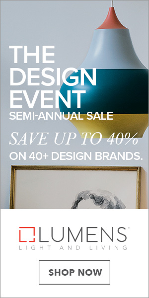 Save up to 40% on lighting, furniture, accessories and more from 40+ design brands during The Design Event. Free shipping. Limited time only.