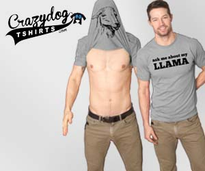 Turn into a Llama flip t shirt