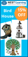 GET 15% On Birdhouses
