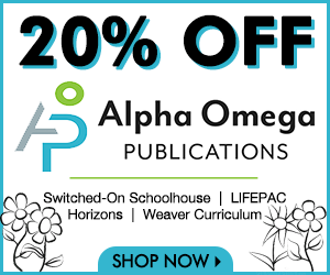 20% off Alpha Omega Publications at NestLearning.com