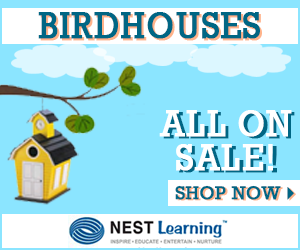 Birdhouses on sale at NestFamily.com
