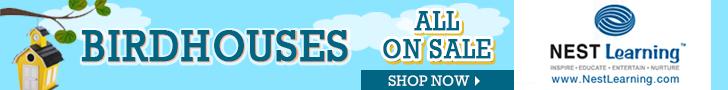 Birdhouses on sale at NestFamily.com