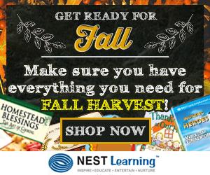 Fall Harvest at NestLearning.com