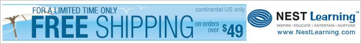 Free Shipping at NestLearning.com
