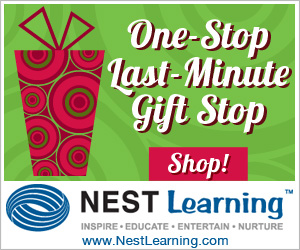 Last Minute Gifts at NestLearning.com
