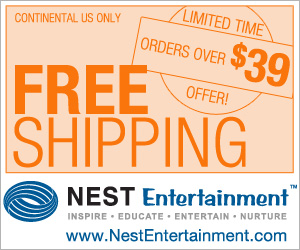 Nest Entertainment Free Shipping