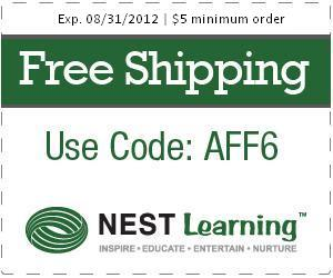 Nest Learning- August Free Shipping