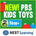 PBS Kids Toys at NestLearning.com