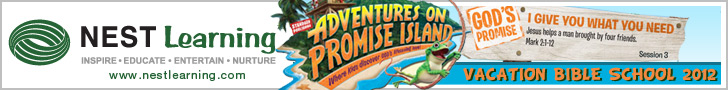 Promise Island VBS 2012 at Nest Learning