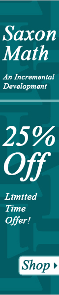 25% Off Saxon Math from Nest Learning