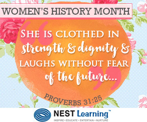 March is Women's History Month at NestLearning.com
