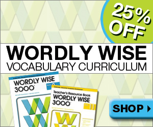 25% Off Wordly Wise from Nest Learning