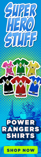 New Power Rangers T-Shirts!