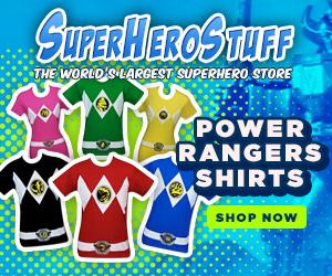 New Power Rangers T-Shirts!