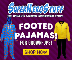 SuperheroStuff: New Footed Pajamas