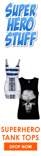 SuperHeroStuff - New Tank Tops