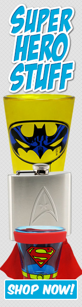 SuperHeroStuff - Superhero Glassware!