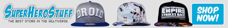 SuperHeroStuff - New Hats!