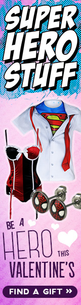Click here to shop now for Valentine's Day gifts at SuperHeroStuff!