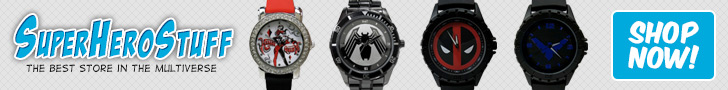 SuperHeroStuff - New Watches!