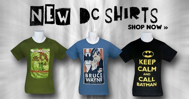 New DC Shirts