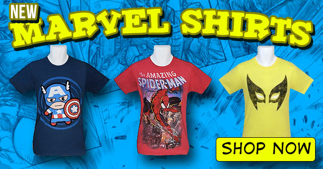 New Marvel Shirts