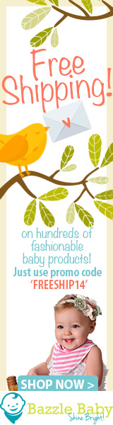 Free Shipping on All Orders at bazzlebaby.com