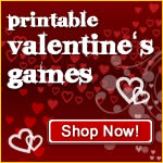 print-and-play valentine's games