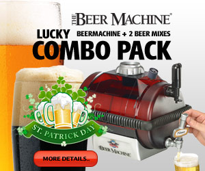 Beer Machine Saint Patricks Day Special