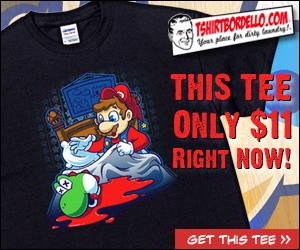 Awesome Mario Godfather Tee