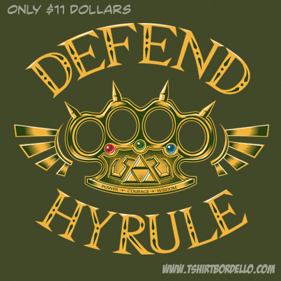 Defend Hyrule Tee