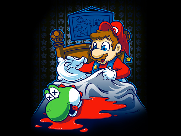 Awesome Mario Godfather Tee