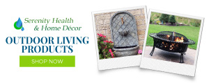 outdoor living products from Serenity Health