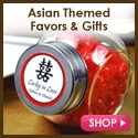 Asian Wedding Favors from Beau-coup.com