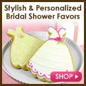 Shop for Bridal Shower Favors @ Beau-coup.com