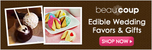 Shop for Wedding Favors @ Beau-coup.com