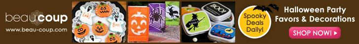 Shop for Spooky Halloween Treats @ Beau-coup.com