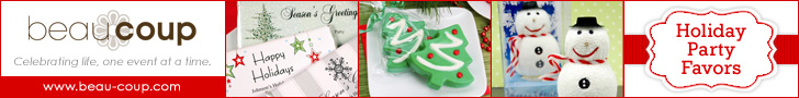 Christmas party favors & supplies