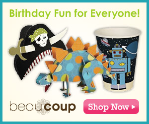 Fun party favors and supplies @ Beau-coup.com