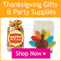 thanksgiving party favors