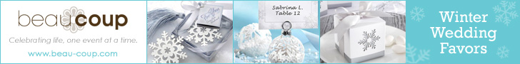 Winter wedding favors, gifts & supplies