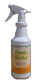 DanderBuster All-Natural Antiallergen Spray