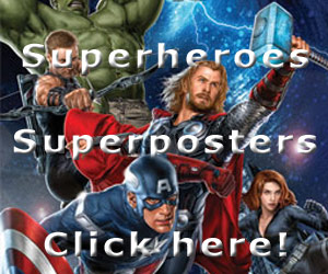 Superhero posters at 123Posters.com