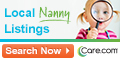 Local Nanny Listings
