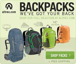 We have your Back - Full Selection of Backpacks at Altrec